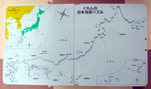日本地図パズル台