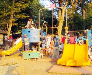 上野公園遊具